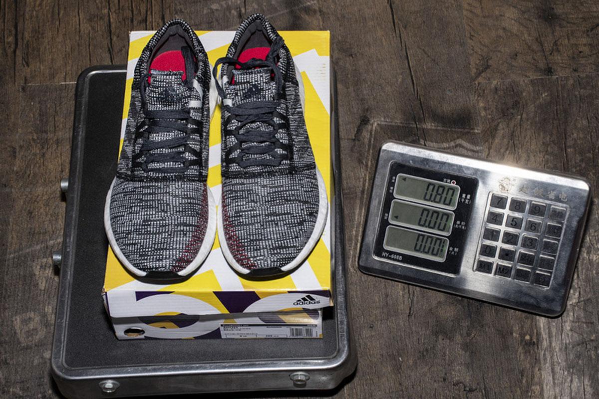 小椰子2代 黑白红 Adidas Pure Boost GO Carbon/Core Black/Power Red