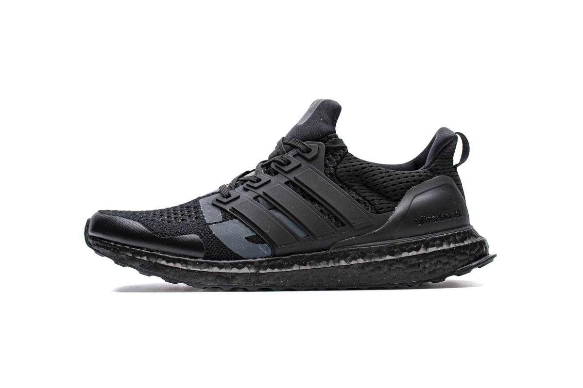 ZS UB4.0 全黑联名 Adidas Ultra Boost 4.0 Undefeated X Triple Black