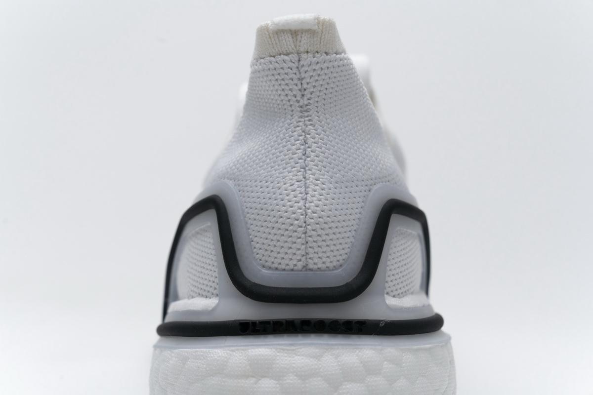 阿迪达斯UB S.RDY真爆米花跑鞋 白黑98-4 Ultra Boost S.RDY White Black