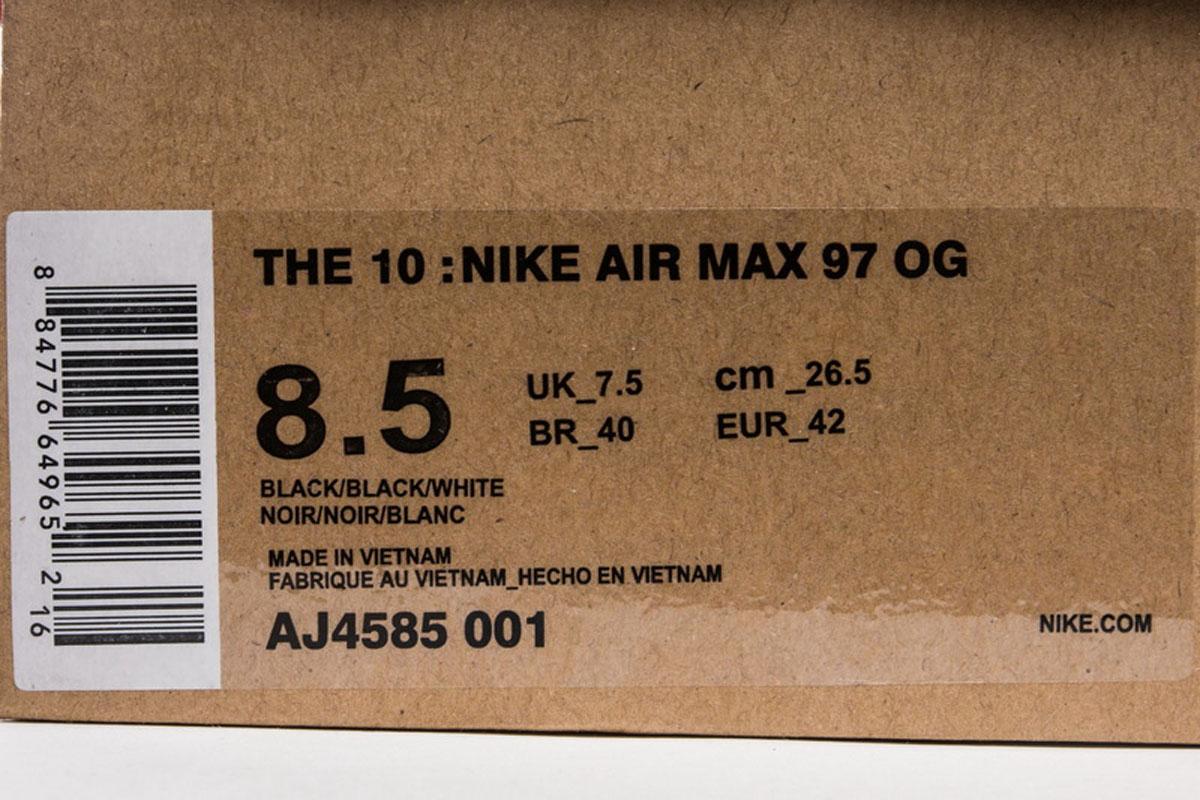 VAC 20 NIKE AIR MAX 97 LX Silver