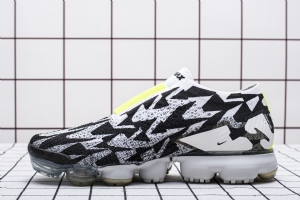 特2018 黑白  特2018  Nike Air VaporMax FK Moc 2/Acronym Light Bone