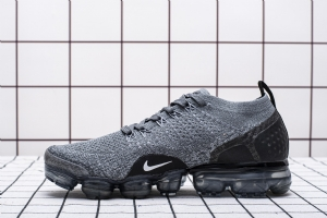 特2018 灰黑  特2018 Nike Air VaporMax Flyknit 2 Dark Grey