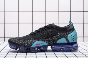 特2018 黑蓝红 特2018 Nike Air VaporMax Flyknit 2 Hot Punch Dusty Cactus