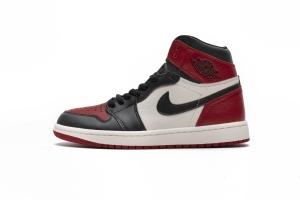 28乔1 黑红脚趾 Air Jordan 1 Bred Toe
