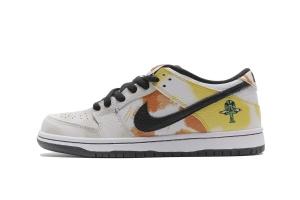 XG Dunk SB 白扎染 OFF-WHITE X Nike Dunk SB Low Roswell Raygun