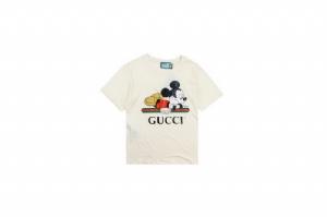 Gucci短袖 趴米老鼠 Gucci White