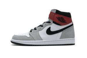 28乔1 浅烟灰 Air Jordan 1 Smoke Grey Red