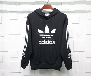 阿迪达斯衣 CL 帽衫基础黑 Adidas Black