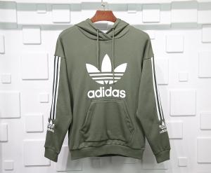 阿迪达斯衣 CL 帽衫基础绿 Adidas Grass Green