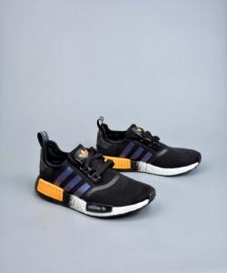R1 黑桔 Adidas NMD R1 Boost Core Black Solar Orange