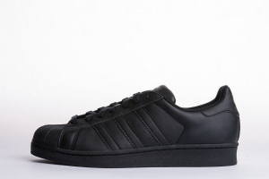 贝壳头 全黑 Adidas Originals Superstar  All Black