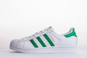 贝壳头 绿尾 Adidas Originals Superstar  Green Tail
