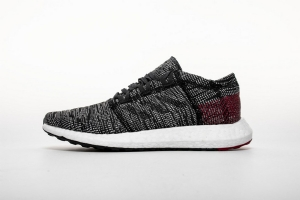 小椰子2代 黑白红8813-4 Adidas Pure Boost GO Carbon/Core Black/Power Red