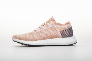 小椰子2代 粉红8813-5 Adidas Pure Boost GO Cloud White/Cloud White/Mystery Ink