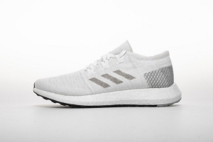 小椰子2代 全白8813-3 Adidas Pure Boost GO Cloud White/Grey/Grey