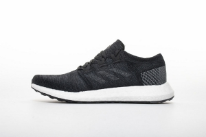小椰子2代 黑白8813-1 Adidas Pure Boost GO Core Black/Grey/Grey