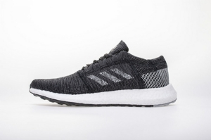 小椰子2代 黑灰白8813-6 Adidas Pure Boost GO Core Black/Grey/White