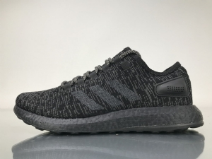 小椰子 全黑8801-18 Adidas Pure Boost Running  All Black