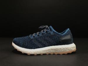小椰子 蓝色 Adidas Pure Boost Running  Blue