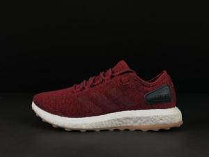 小椰子 红色 Adidas Pure Boost Running  Red