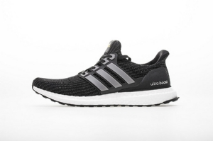 ZS UB4.0 黑白满天星 Adidas Ultra Boost 4.0 Black/Iron