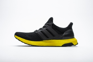 ZS UB4.0 黑黄8823-2 Adidas Ultra Boost 4.0 Core Black/Yellow