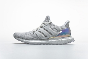 ZS UB4.0 白镭射 Adidas Ultra Boost 4.0 Iridescent White