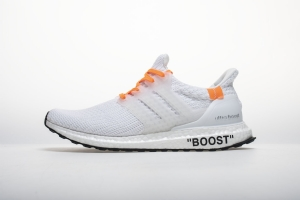 AH UB4.0 全白OW Adidas Ultra Boost 4. OFF WHITE Black/White