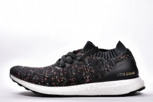 UB袜子 黑彩虹 Adidas Ultra Boost Uncaged Real Boost Colorful Black