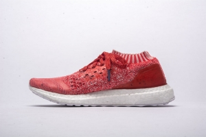 UB袜子 玫红 Adidas Ultra Boost Uncaged Real Boost Coral