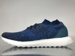 UB袜子 蓝色海洋 Adidas Ultra Boost Uncaged Real Boost Dark Blue