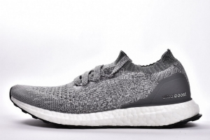 UB袜子 磨砂灰 Adidas Ultra Boost Uncaged Real Boost Matte Grey