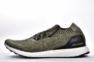 UB袜子 草绿 Adidas Ultra Boost Uncaged Real Boost Tech Earth