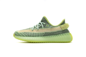 "KM V2 绿斑马满天星 Adidas Yeezy 350 Boost V2 adidas Yeezy Boost 350 V2 ""Yeezreel Reflective"" Real Boost"