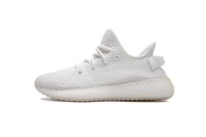 KM V2 全白 Adidas Yeezy 350 Boost V2 Cream White