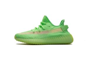 STOS V2 荧光绿 Adidas Yeezy Boost 350 V2 Glow In Dark GID