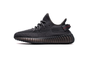 STOS V2 黑满星 Adidas Yeezy Boost 350 V2 Static Black Reflective