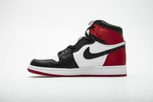 """XP 乔1 红丝绸  Air Jordan 1   Air Jordan 1 OG High OG """"Satin Black Toe"""""""