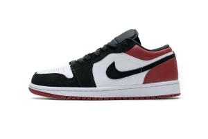 0596乔丹1代低帮 黑红 Air Jordan 1 Low Black Toe