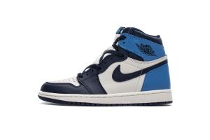 XP 乔1 黑曜石 Air Jordan 1  Obsidian University Blue