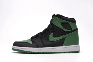 XP 乔1 黑绿脚趾 Air Jordan 1  Pine Green