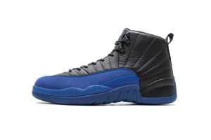 乔丹12代 黑蓝 Air Jordan 12 Air Jordan 12 Retro Black Game Royal