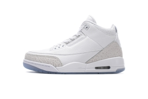 乔丹3代 全白  Air Jordan 3 Air Jordan 3 Retro Pure White