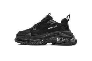 LD复古气垫 全黑气垫 Balenciaga All Black