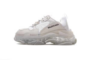 LD复古气垫 全白气垫 Balenciaga All White