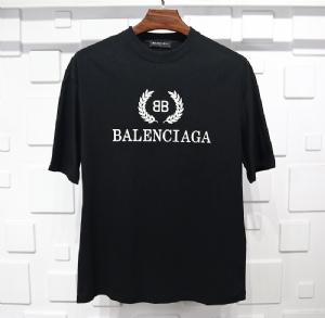 巴黎世家衣 CL 短袖麦穗黑 Balenciaga Black