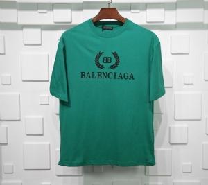 巴黎世家衣 CL 短袖麦穗绿 Balenciaga Green