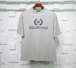 巴黎世家衣 CL 短袖麦穗灰 Balenciaga Grey