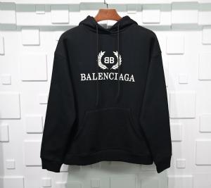 巴黎世家衣 CL 帽衫稻穗黑 Balenciaga Black