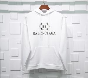 巴黎世家衣 CL 帽衫稻穗白 Balenciaga White